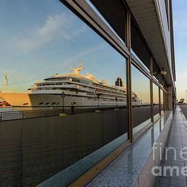 Reflection of a cruise ship by Viktor Birkus