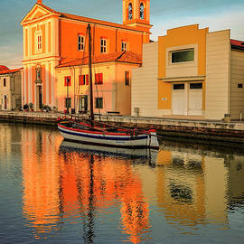 Reflections from Italy by Evmeniya Stankova