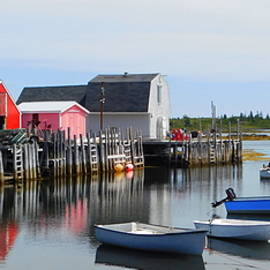 Reflections of Blue Rocks by Karen Cook