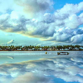 Reflections of Clouds by Debra and Dave Vanderlaan