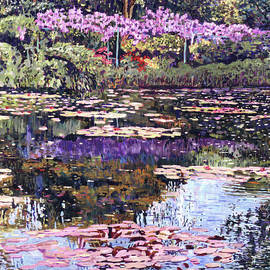 Reflections Of Giverny by David Lloyd Glover
