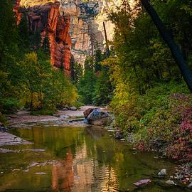 Reflections of Oak Creek Canyon by Bonny Puckett