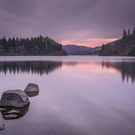 Reflections on loch Ard by Daniel Letford