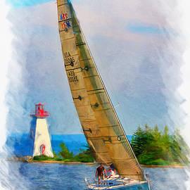 Regatta time in Baddeck, Nova Scotia by Tatiana Travelways