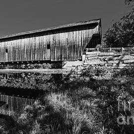 Remote Maine Covered Bridge by Steve Brown