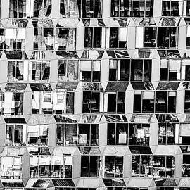 Repeating Window Patterns Abstract - NYC by Stuart Litoff