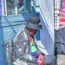 Resting Artist by Mirta Flores