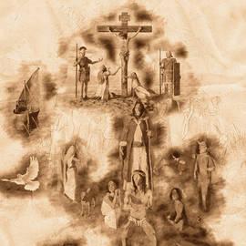 Resurrection - Sketch by Pedro Elias
