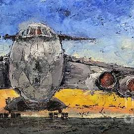 Retired Plane by Patricia Caldwell