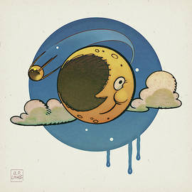 Retro-Moon by Udo Linke