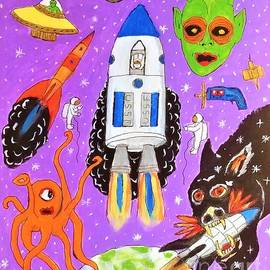 Retro Space by Charles Buchanan