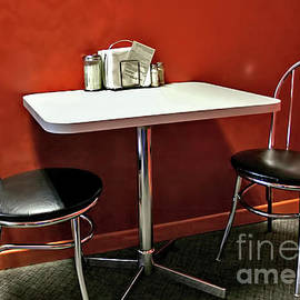 Retro Table for Two