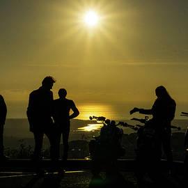 Revved Up Sunset