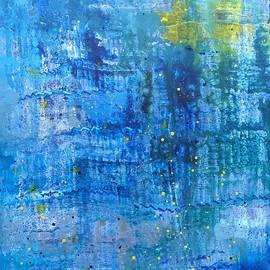 Rhapsody in Blue I by Hyacinth Paul