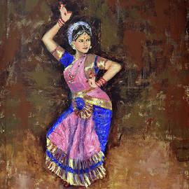 Rhythm series 21 by Uma Krishnamoorthy