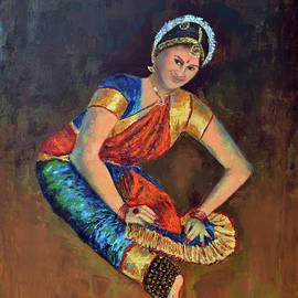 Rhythm series 23 by Uma Krishnamoorthy