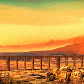 Ribblehead Viaduct North Yorkshire England - DWP1244308 by Dean Wittle