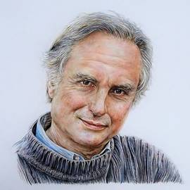 Richard Dawkins by Cherise Foster
