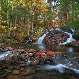 Riga Falls  by Bill Wakeley