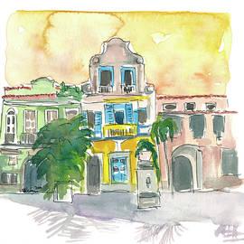 Rio De Janeiro Largo Do Boticario Old Town Houses by M Bleichner
