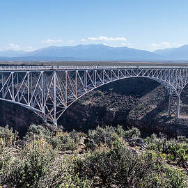 Rio Grande Gorge Bridge Near Taos New Mexico by Debra Martz