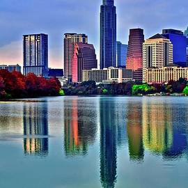Ripples and Reflection in Austin by Frozen in Time Fine Art Photography