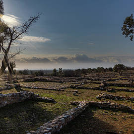 Rising Sun Over Olynthus by IC Papachristos