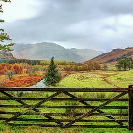 River Duddon, Lake district, Cumbria by Maggie Mccall