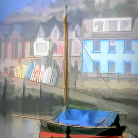 River Looe Sailboat by Jerry Griffin