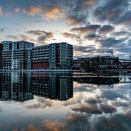 River Reflections by Randy Scherkenbach