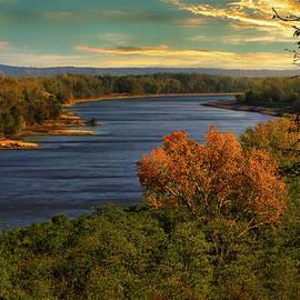 River Scene by Randall Branham