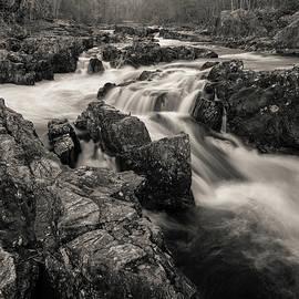 River Tummel Rapids by Dave Bowman