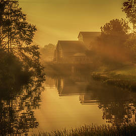 Riverside Sunrise by Gareth Burge Photography