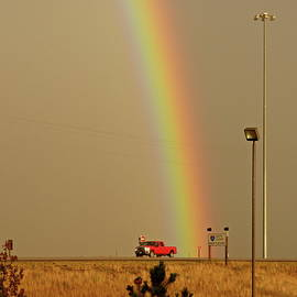 Road Rainbow by Lyuba Filatova