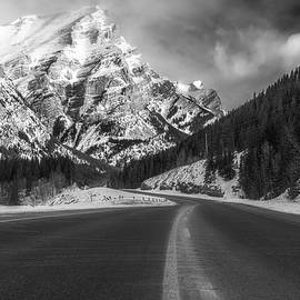 Road to the Canadian Rockies by Yves Gagnon