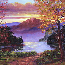 Road To The Lakeshore by David Lloyd Glover