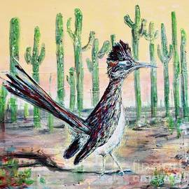 Roadrunner of Arizona- Southwest birds by Patty Donoghue