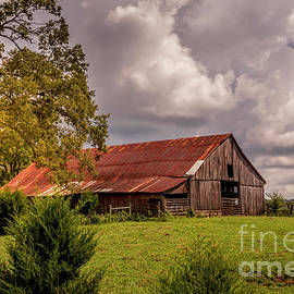Roadside Barn by Mitch Shindelbower