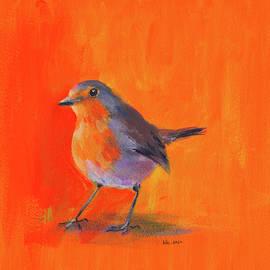 Robin portrait by Karen Kaspar
