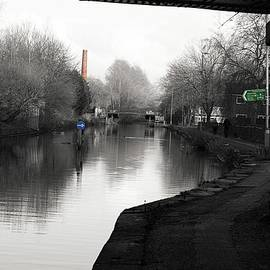 Rochdale Canal Selective Color  by Watto Photos