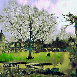 Rochester Cathedral - The Grounds by Nigel Hirst