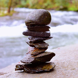 Rock Stacking by Pat Turner