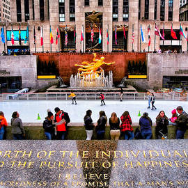 Rockefeller Center New York - Prints Puzzles and More by Miriam Danar
