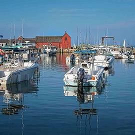 Rockport Harbor-I by Ray Silva
