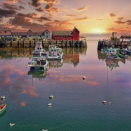 Rockport Sunset by Marcia Colelli