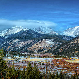 Rocky Mountain Winter Colors by Douglas Wielfaert