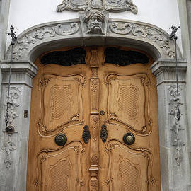 Rococo Door in Constance