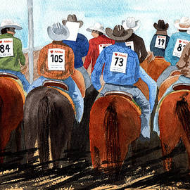 Rodeo Cowboys by Margaret Bucklew