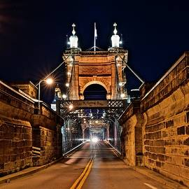 Roebling on Labor Day Night by Frozen in Time Fine Art Photography
