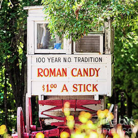 Roman Candy a New Orleans Tradition - square by Scott Pellegrin
